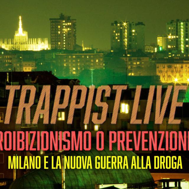 Vieni ad ascoltare TRAPPIST in diretta mercoledì 3 aprile alle 19:30 in Santeria Paladini 8