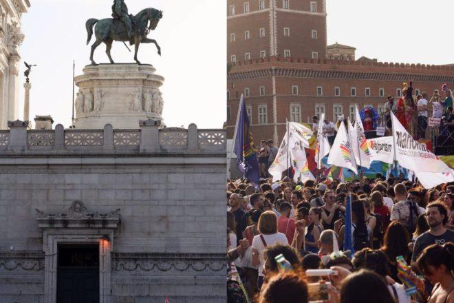 La marea del Pride a Roma