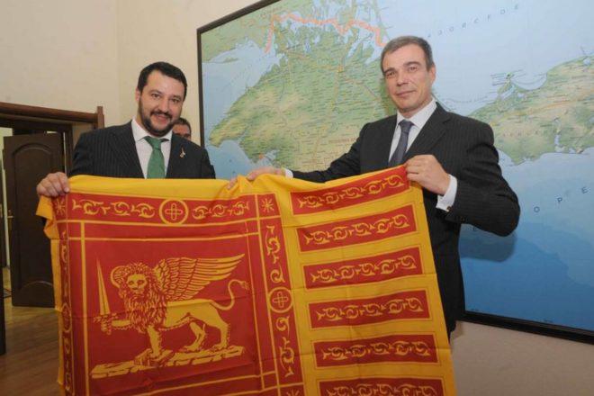 """Salvini può anche non aver """"mai preso un rublo."""" Potrebbe comunque essere un reato"""