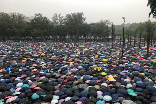 Le grandi proteste di Hong Kong tornano pacifiche