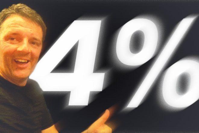 L'ammissione della sconfitta di Matteo Renzi