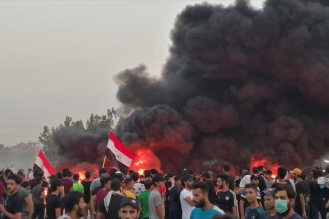 La repressione e i morti non fermano le proteste in Iraq