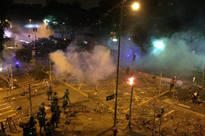La situazione a Hong Kong sta peggiorando rapidamente