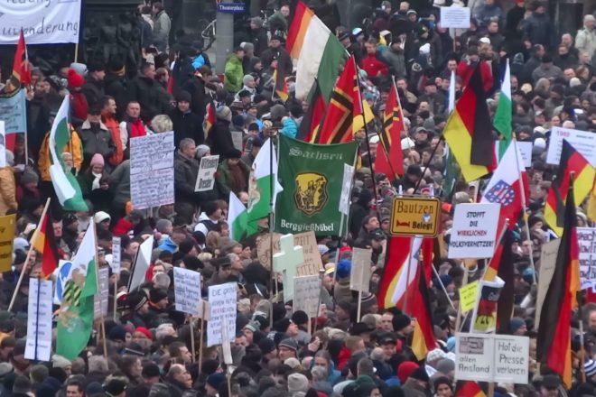 "L'""emergenza nazista"" dichiarata a Dresda è indice di un problema serio"
