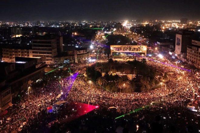 Le proteste in Iraq chiedono un futuro per il Paese dopo lo Stato islamico