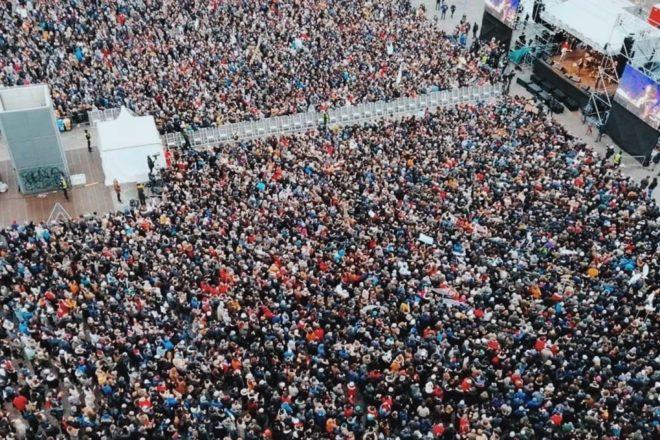 Le Sardine hanno riempito la piazza a Bologna, ma non si capisce ancora cosa vogliono fare
