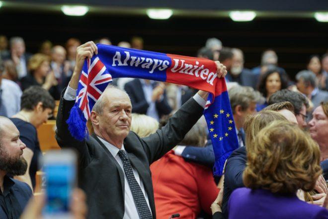 L'addio del Parlamento europeo al Regno Unito