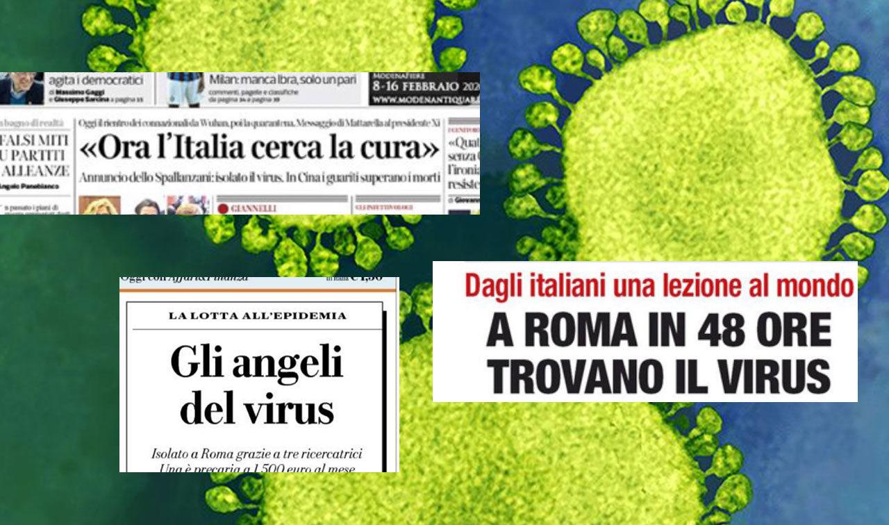 Sul nuovo coronavirus i ricercatori italiani non sono stati i primi né i più bravi