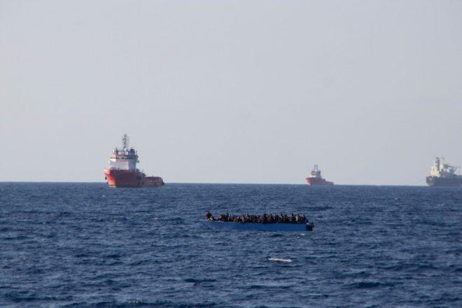 Più di 600 persone a marzo sono state respinte in Libia