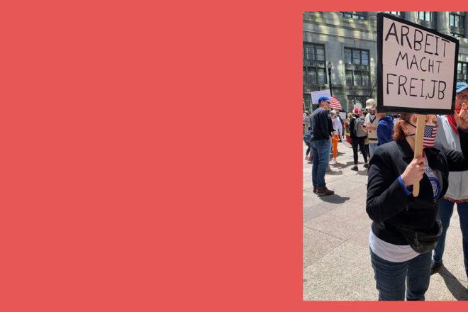 Chi protesta per le riaperture negli Stati Uniti? Neo-nazisti e scettici dei vaccini