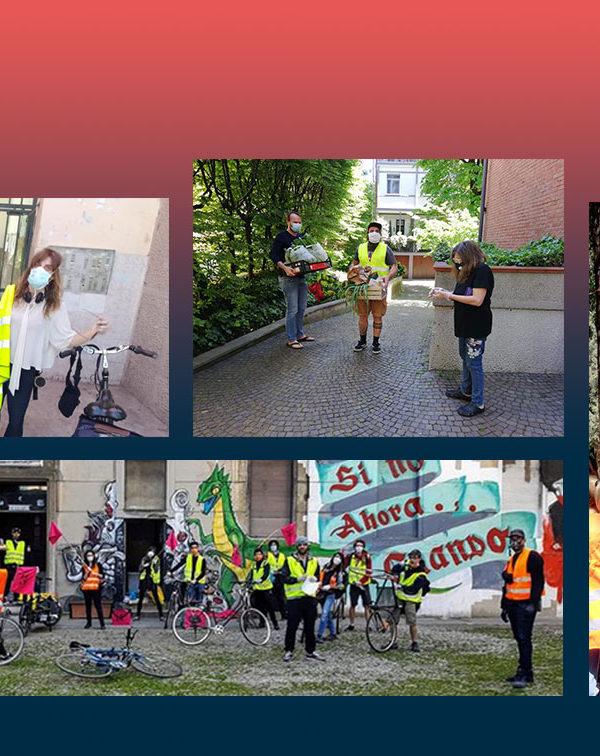 Staffette alimentari e solidarietà: a Milano gli attivisti coprono le mancanze delle istituzioni