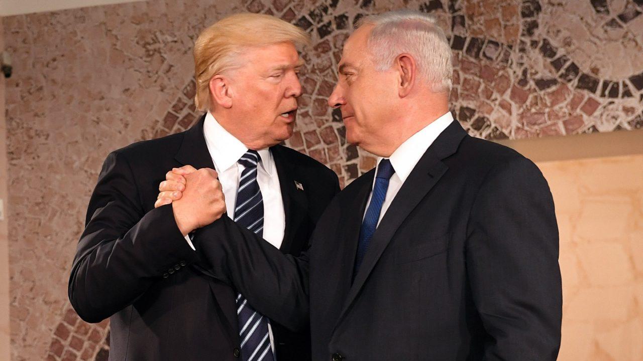 Chi decide dell'annessione della West Bank? Donald Trump