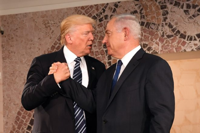 Chi decide dell'annessione della West Bank? Donald Trump