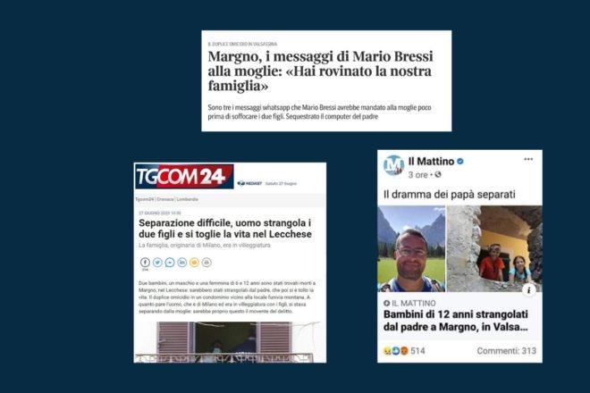 La stampa italiana deve smetterla di empatizzare con gli uomini violenti