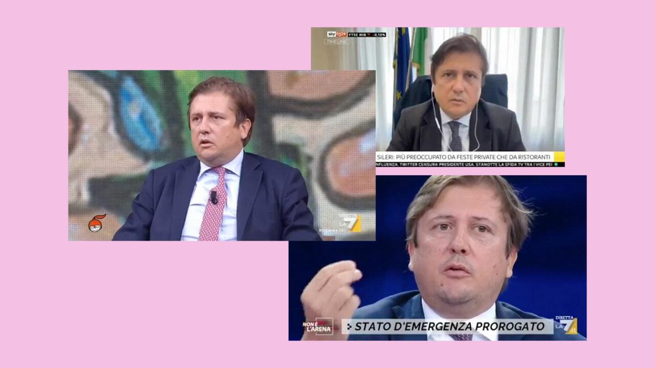 Il governo ha un problema Pierpaolo Sileri?