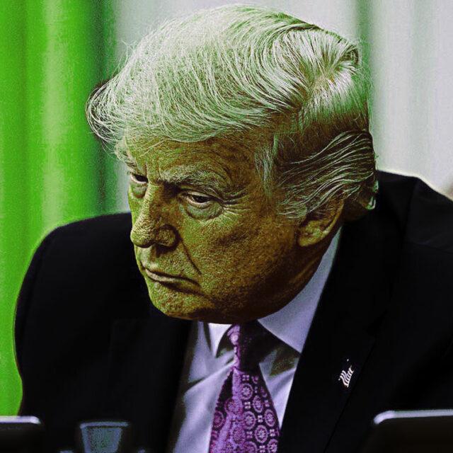 Il virus alla Casa Bianca è Donald Trump