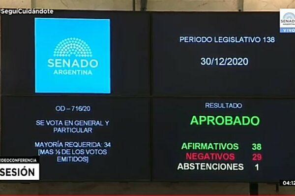 L'aborto è stato legalizzato in Argentina