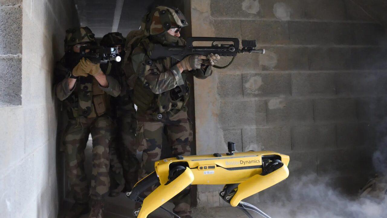 L'uso militare del cane–robot Spot è solo l'inizio