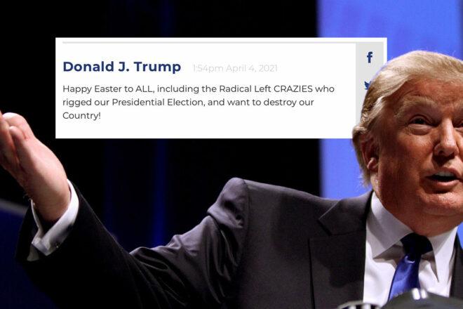 Oh no, Donald Trump è un blogger adesso