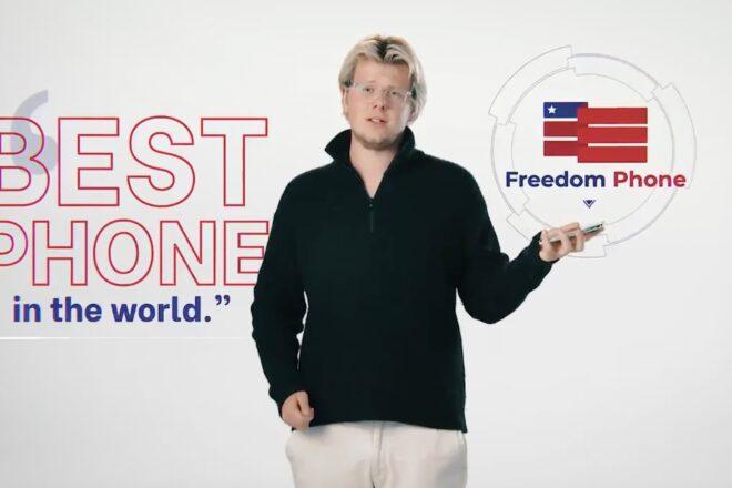 Hanno fatto uno smartphone per sostenitori di Donald Trump